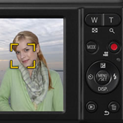 Creative Control effects of the Panasonic LUMIX DMC-F5