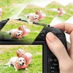Instant Transfer capabilities of the Panasonic LUMIX DMC-G6 compact mirrorless digital camera