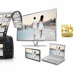 Full HD video recordng capability of the  Panasonic LUMIX DMC-G6 compact mirrorless digital camera