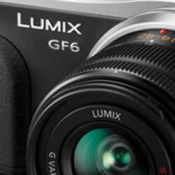 The creative features of the Panasonic DMC-GF6 compact mirrorless digital camera