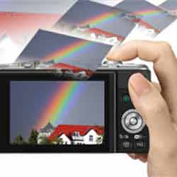 The Panasonic DMC-GF6 compact mirrorless digital camera's WiFi features