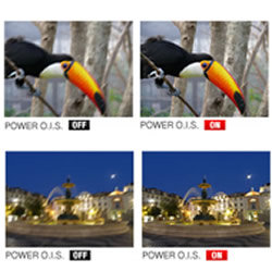 Effects of the Power OIS feature of the Panasonic LUMIX DMC-ZS25