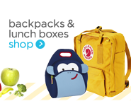 backpacks & lunch boxes shop