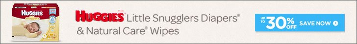 Huggies 100% SOV Diapering Cat - Ad Campaign Banner