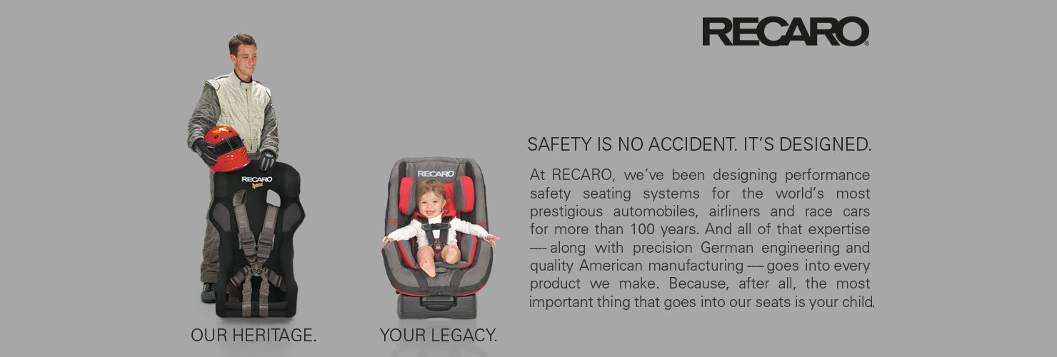 Recaro: Safety is no accident. It