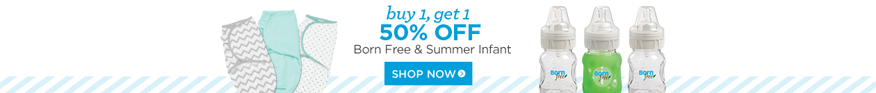 Summer Infant Born Free BOGO