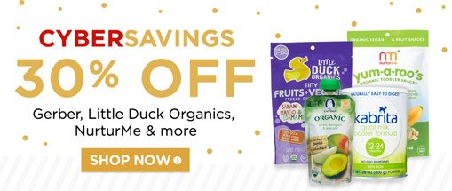 30% off baby food