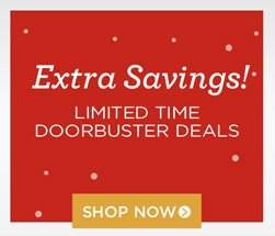 Up to 70% off Clothing & Shoes - plus limited time only doorbuster deals!