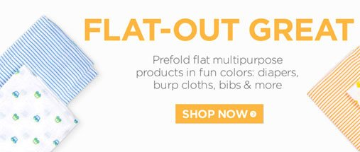 Get great flat Diapers
