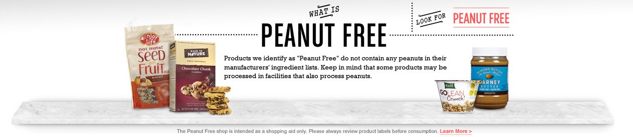 Vinemarket Peanut Free