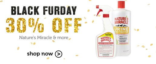 30% off Nature's Miracle & more