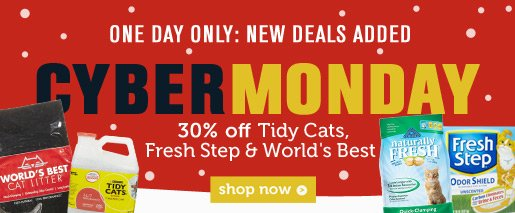 30% off Fresh Step & More