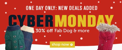 30% OFF Fab Dog & more