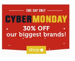 30% off our biggest brands