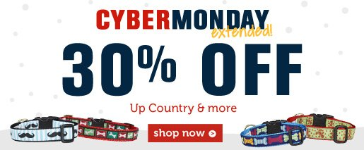 30% OFF Up Country & more