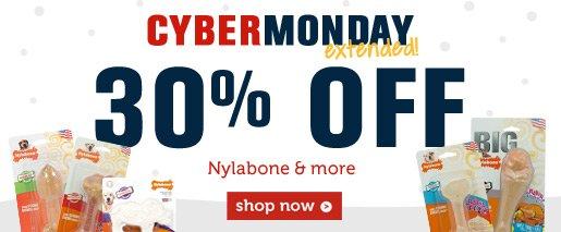 30% OFF Nylabone & more