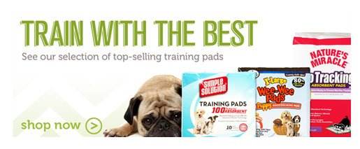 Shop training pads