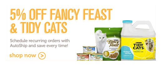 Fancy Feast and Tidy Cats