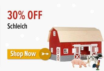 30% off Schleich