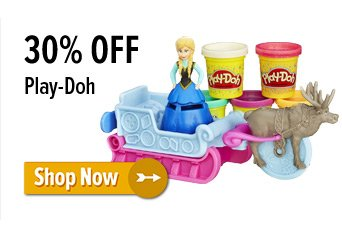 30% off Play Doh