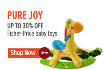 Up to 30% off Fisher Price