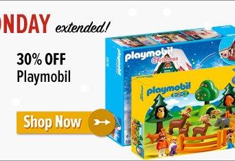 30% off Playmobil