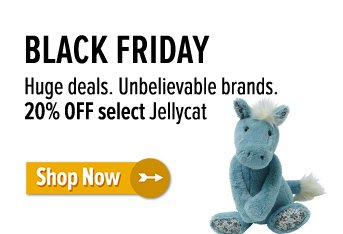 20% off Jellycat