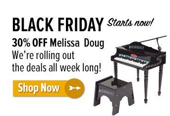 30% off Melissa & Doug