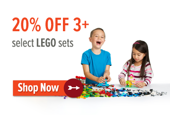 20% off LEGO