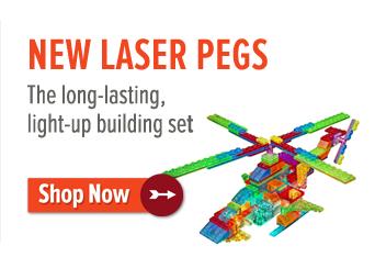 15% off 2+ Laser Pegs