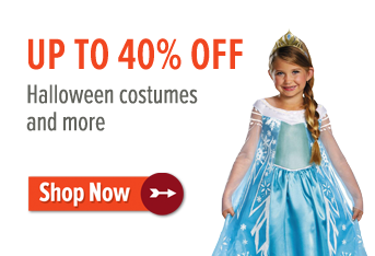 Up to 40% Off Halloween Costumes