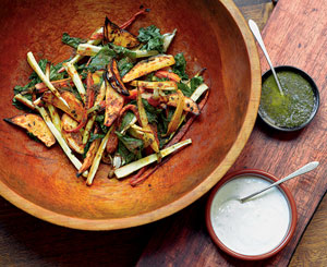 Turmeric-Spice Root Vegetables