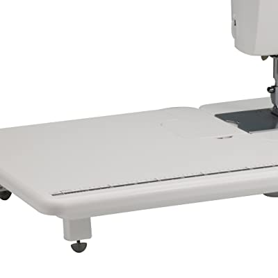 7 Extension Table. SL400  Brother Designio Series DZ1500F High Speed Straight Stitch Sewing Machine