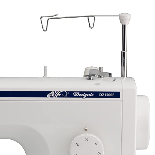 9 Dual Thread Stand. SL600  Brother Designio Series DZ1500F High Speed Straight Stitch Sewing Machine
