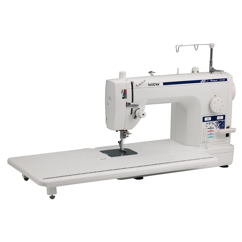 DZ1500F Table Angle. SL1000  Brother Designio Series DZ1500F High Speed Straight Stitch Sewing Machine