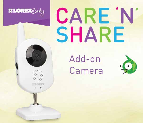 Lorex Baby Care 'N' Share Add-On Camera
