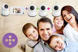 Expand your system up to four cameras