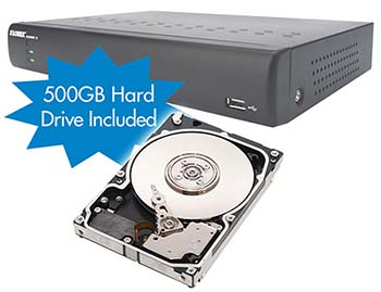 500GB HDD included