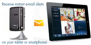 Instant e-mail alerts