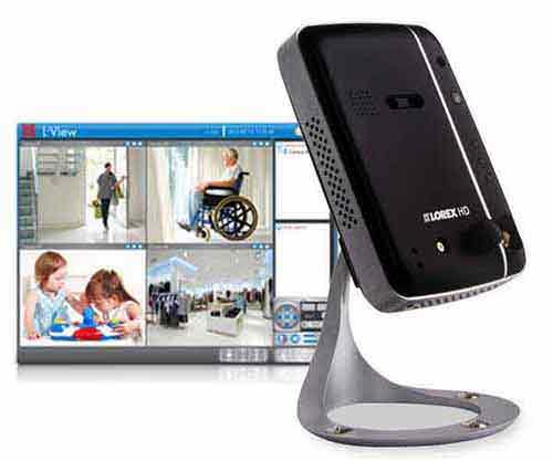 LNC204 Wireless Network Camera