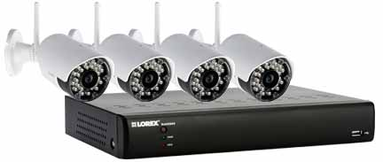 LH014501C4WF ECO BlackBox Security Camera System with wireless cameras