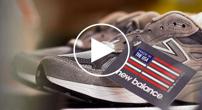 New Balance 990 Made in USA Video