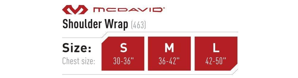 mcdavid size chart