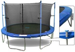 Upper Bounce Trampolines