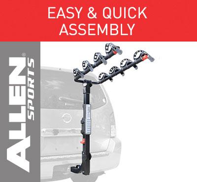 Allen Sports Premier Hitch Mounted 4 Bike Carrier For