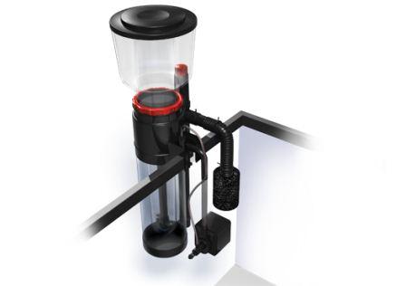 skimmer in use