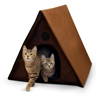 Manufacturing Outdoor Kitty A-Frame Cat House