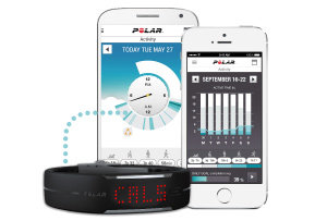 Sync your Loop via Bluetooth Smart to the free Polar Flow app