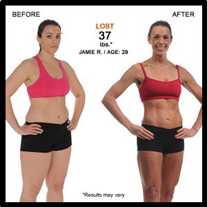 Jamie lost 37 pounds with FOCUS T25