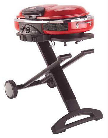Portable Propane Bbq Gas Grill 14, Btu Porcelain Grid with Support Legs and.